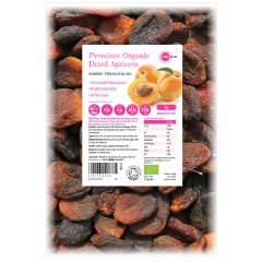 Organic Dried Apricots Unsulphured