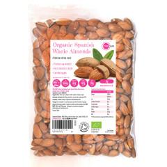 Organic Spanish Whole Almonds