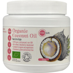 Coconut Oil Raw Organic Extra Virgin - HDPE