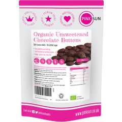 Unsweetened Chocolate Buttons Organic