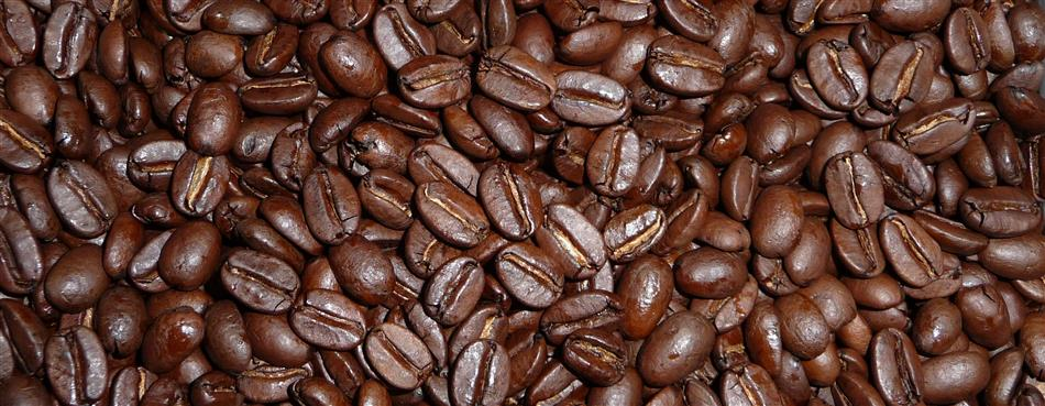 Organic roasted ground arabica coffee