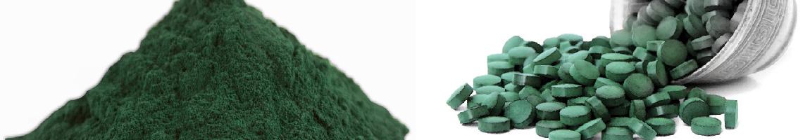 organic spirulina chlorella pyrenoidosa