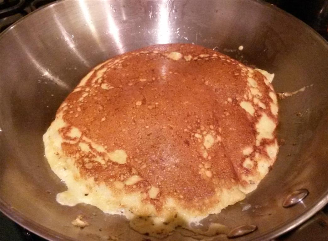 whey pancake